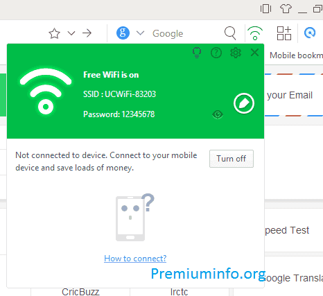 Create Hotspot in computer