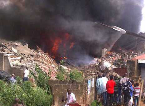 153 passengers dead in Dana Air crash in Lagos