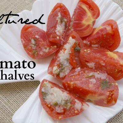 Cultured Tomato Halves