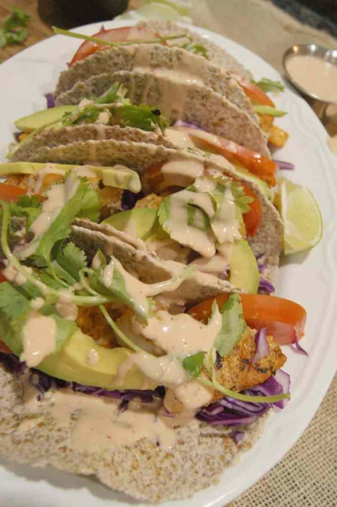 Cajun fish tacos simple tortilla trick prepare nourish for Cajun fish tacos