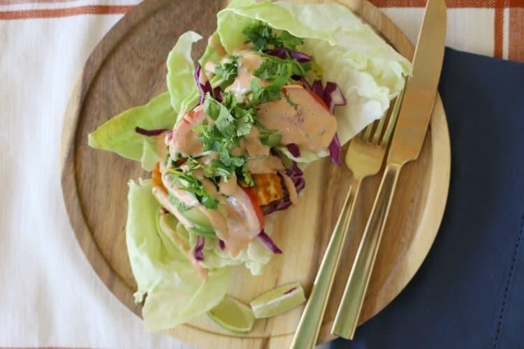 Cajun Fish Tacos + Simple Tortilla Trick