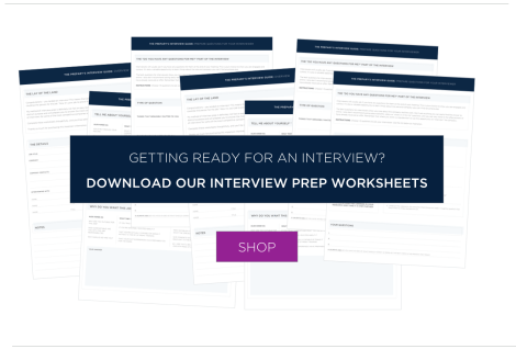 interview prep worksheets