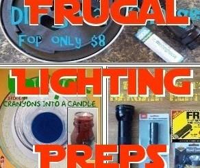 Frugal Lighting Preps