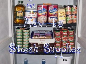 Frugal Ideas on How To Stash Supplies for a Rainy Day