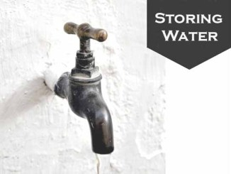 How Do We Store Water?