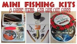 carrying water - Mini Fishing Kit 1