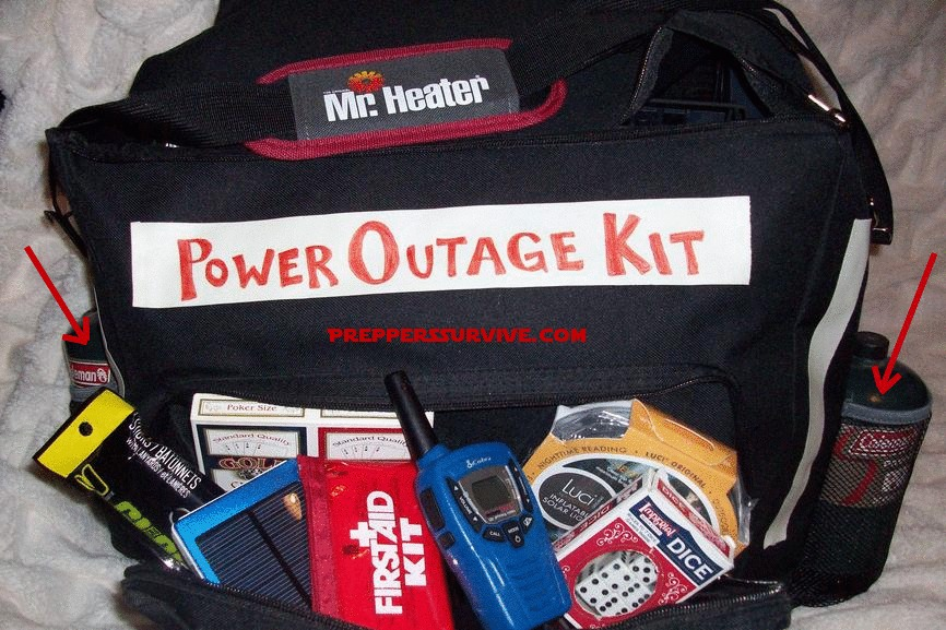 My Power Outage Kit Preppers Survive