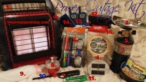 Preppers Survive- Cold Weather Power Outage Kit