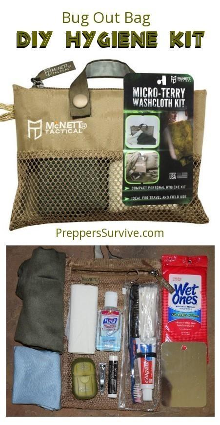 d887874eab DIY Hygiene Kit - Prepper Hygiene - Pinterest