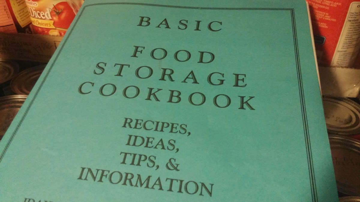 8 PRINTABLE Food Storage Cookbooks PDF