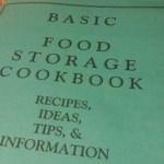 PRINTABLE Food Storage Cookbooks PDF - Preppers Survive