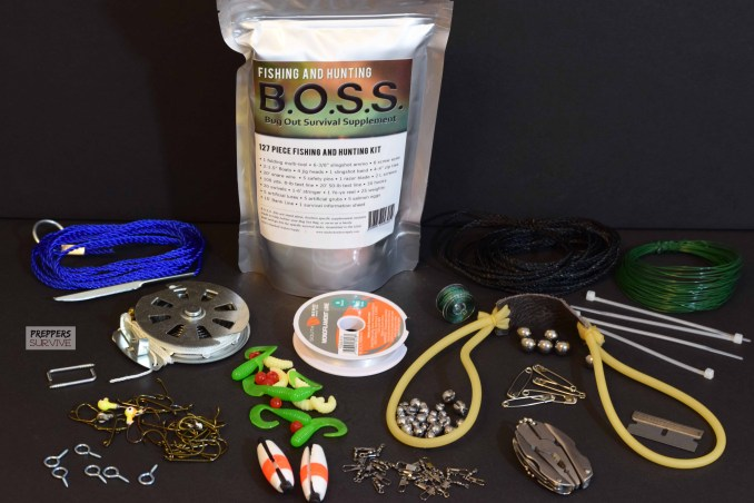 B.O.S.S. Survival Kit Review - Fishing and Hunting