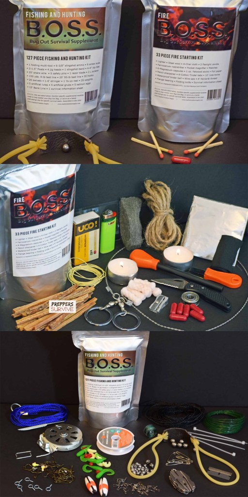 B.O.S.S. Survival Kit Pinterest Pictures