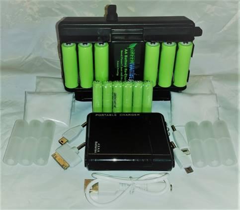 Recharge Batteries Using Saltwater - Greenivative
