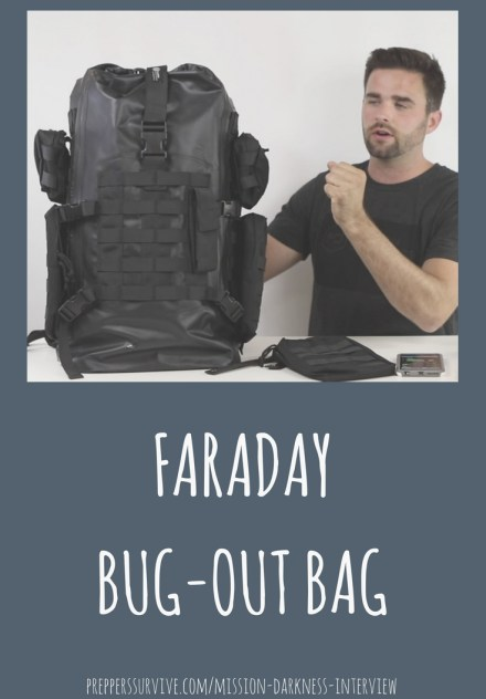 Meet Ryan from MOS Equipment. He designed the Mission Darkness Faraday Bags that are used by law enforcement, military, business executives, and preppers. Mission Darkness Interview - Interviewing Preppers