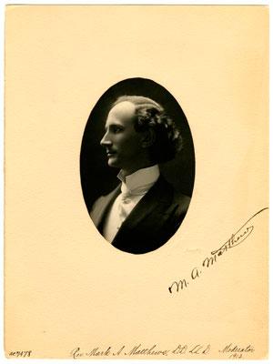 Rev. Mark A. Matthews