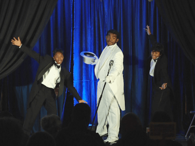 The play 'Cotton Comes to Louisville' paid tribute to several great African American performers in the 1920's like Duke Ellington, Nat King Cole, and Cab Calloway among others. (Photo by Brian Wells)