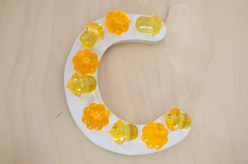 Fall Alphabet Jewel Fine Motor Practice - Preschool Inspirations-11