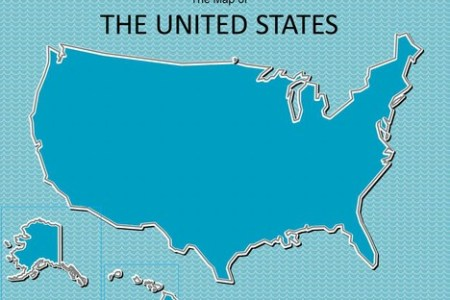 map of usa powerpoint template