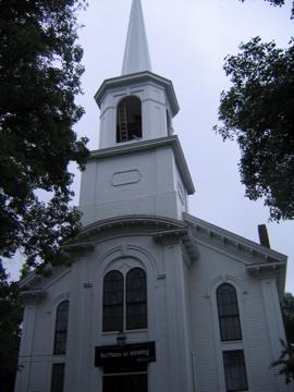 Yarmouth UU church