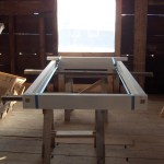 Plank Frame Window