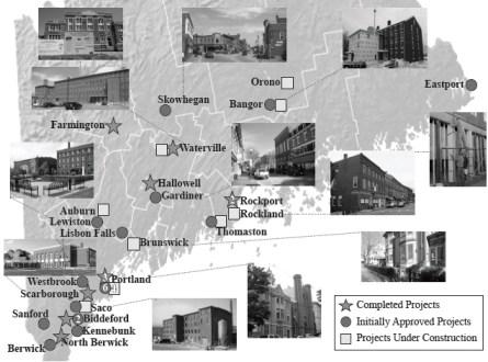 Historic Preservation Tax Credit Properties