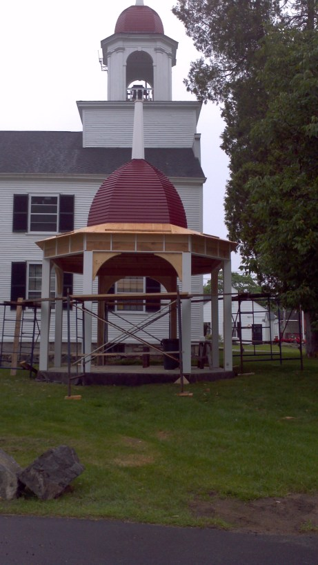 New Castle Gazebo, almost finished