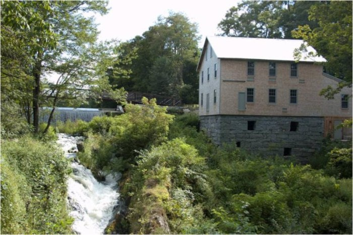Reviving the Freedom Mill, photo courtesy Tony Grassi