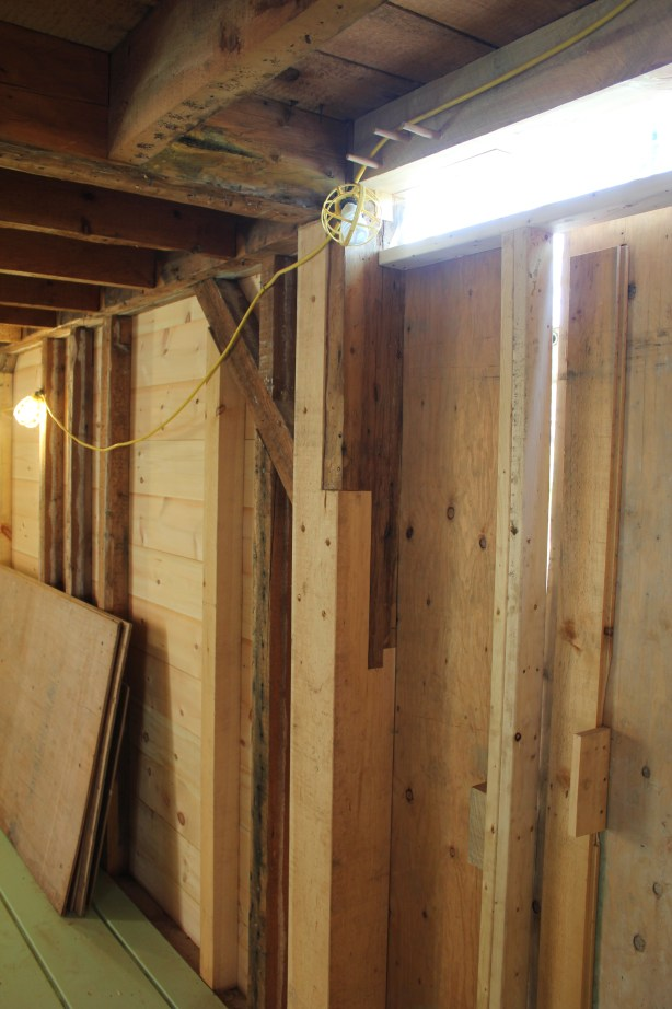 Half lap, and partial bladed scarf joint