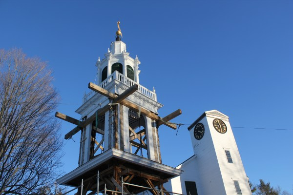 East Derry Steeple and Meetinghouse