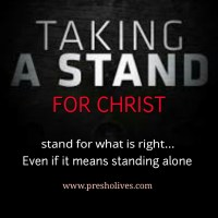 ​Taking a Stand for God