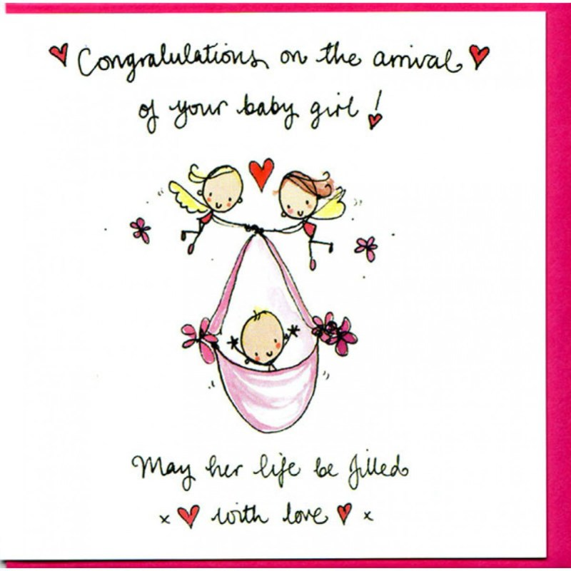 Large Of Congratulations On Your Baby Girl