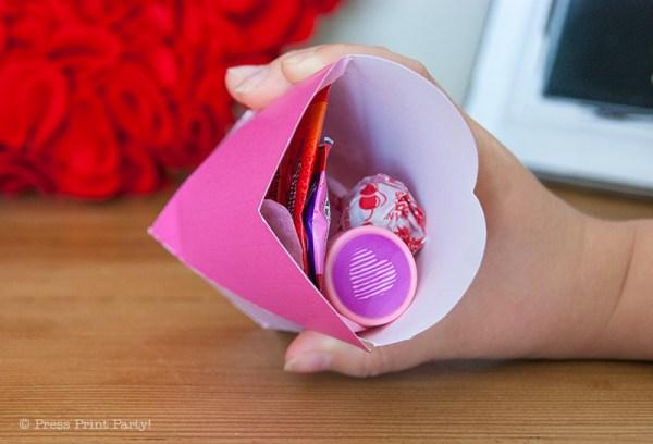 Box coeur Valentines gratuit imprimables par Press Imprimer Party!