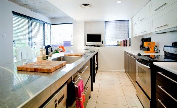 Utilit du comptoir de la cuisine - La cuisine de comptoir ...