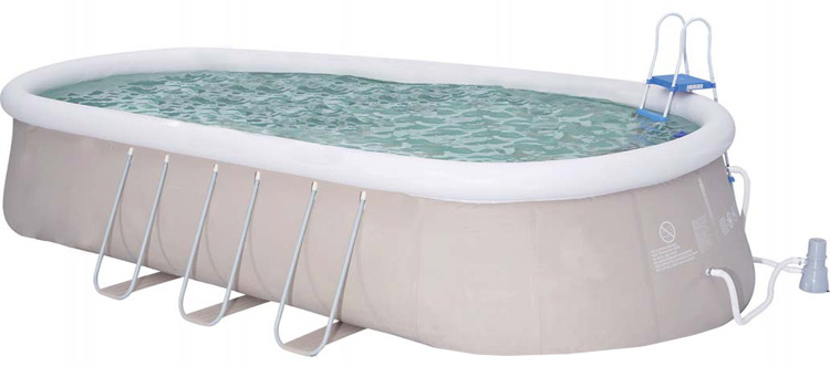 Types de piscine gonflable for Piscine autoportee pas cher