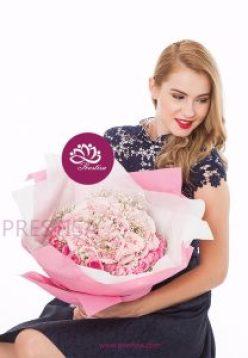 Jual Bunga Bouquet Mawar Kecamatan Mariso