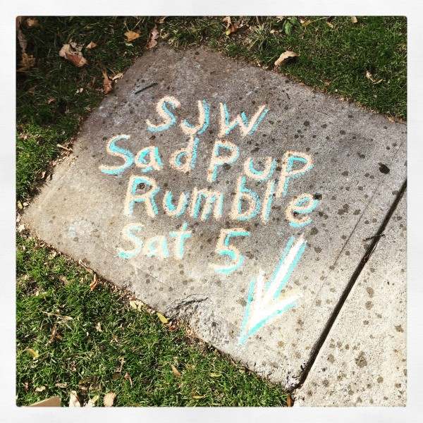 SJW/Sad Pup Rumble