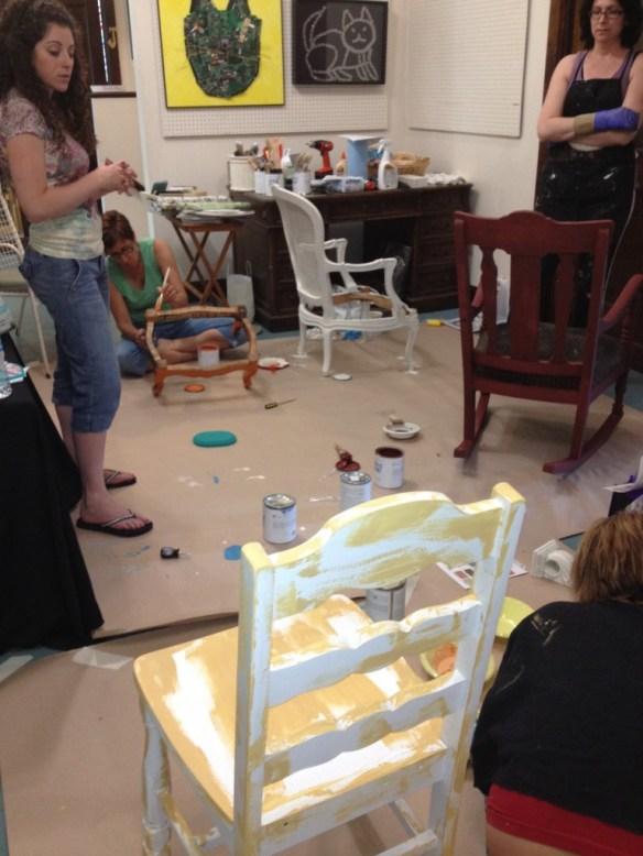 PAWS- Suite Pieces Chalk paint Workshop