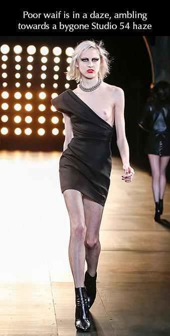 Saint Laurent Paris Fashion Week 2015