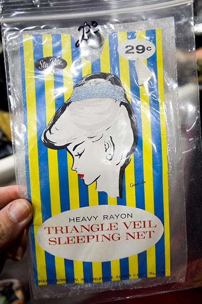 vintage sleeping net