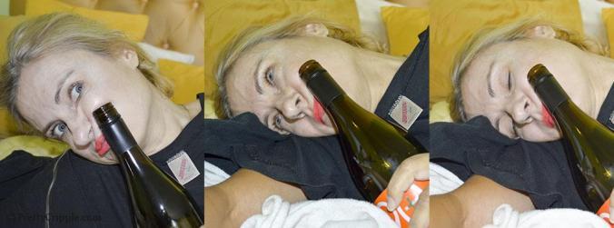 alcoholic female blogger