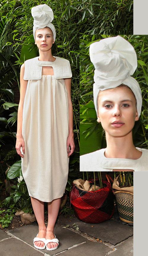 Tia Cibani NY Fashion Week September 2015.