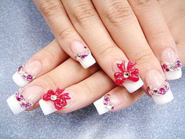 Amazing Art on Nails: 3D Nail Art Collection