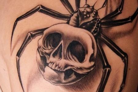 3d skull tattoo designs for girls