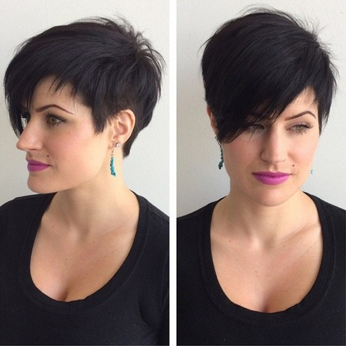 Super Short Hairstyles For Long Faces of 3 by Ashley