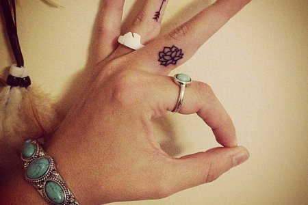small simple tattoo for women