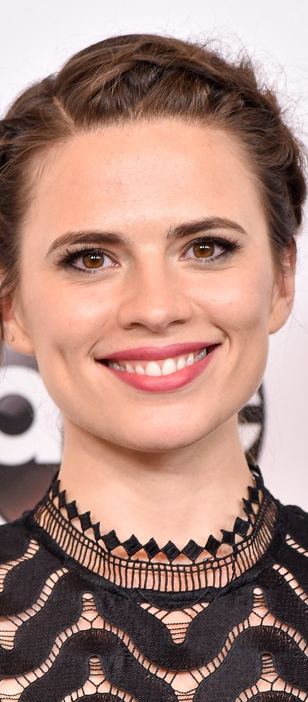 Hayley Atwell Crown Braid