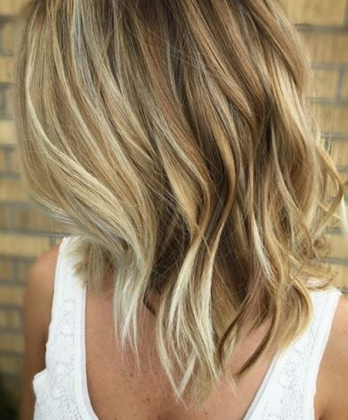 Shoulder Length Hairstyle