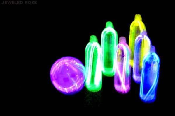 Glow in the Dark Night Bowling, 25 Best Backyard Birthday Bash Games