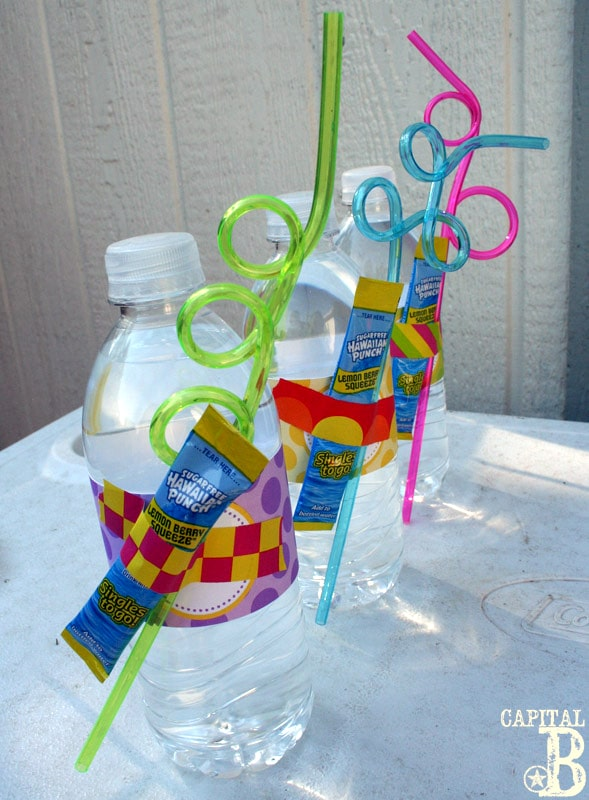 Drix Mix Party Favors | Budget Birthday Favors via Pretty My Party